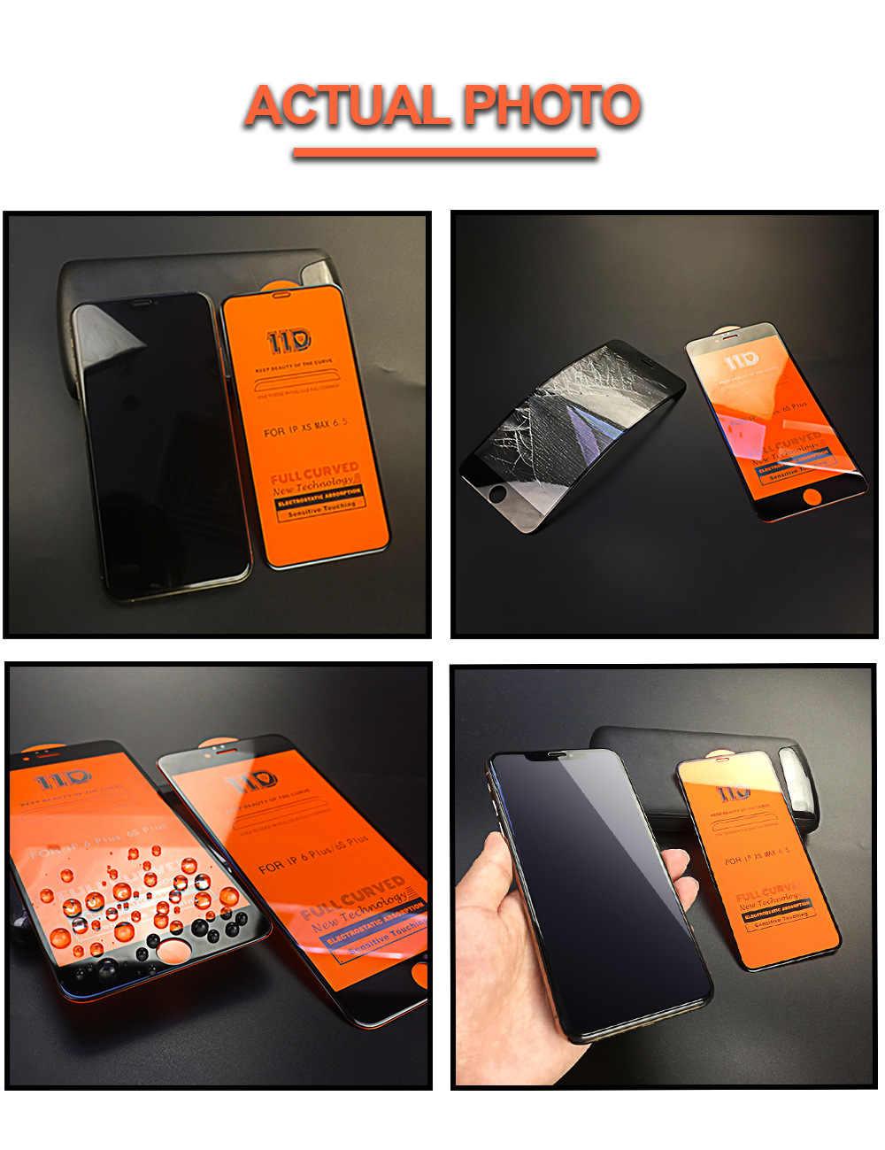 11D полностью изогнутое закаленное стекло полная бухта для Samsung Galaxy A8 A7 A750 A6 Plus A6 2018 большая изогнутая быстрая выхлопная защитная пленка
