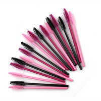 50Pcs Disposable Make up Eyelashes Individual Lashes Removing Cotton Swab Micro Brushes Eyelash Extensions Makeup Tools