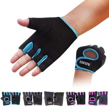 Cycling Half Finger Gloves Women Men Protective Handwear Gym Fitness Outdoor Bike Riding Sportswear Accessories outdoor cycling riding half finger gloves blue pair size xl