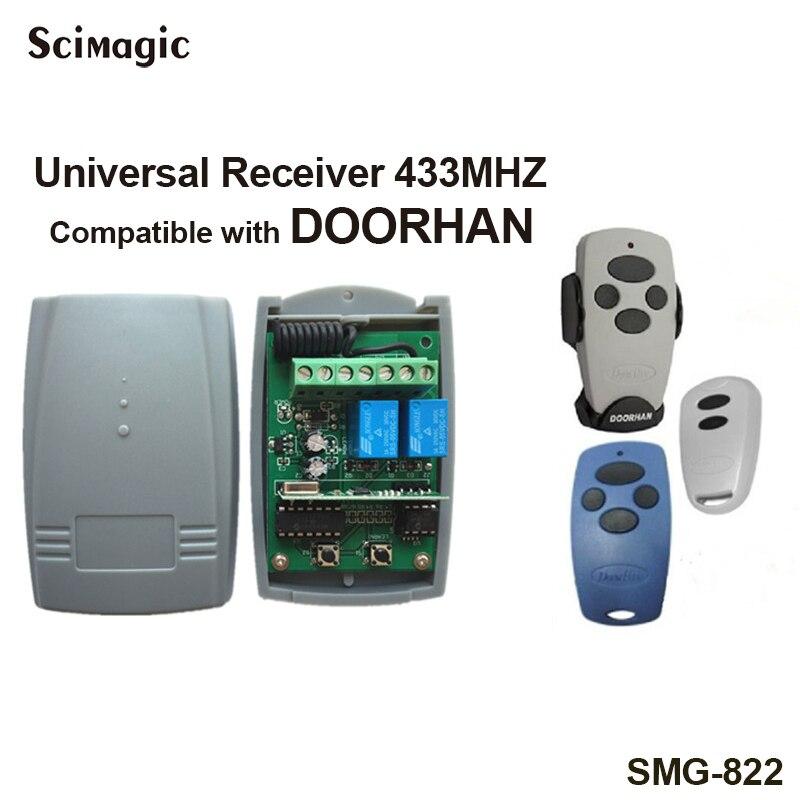DOORHAN Receiver 433.92 MHz DOORHAN TRANSMITTER Remote Barrier Receiver 433MHz