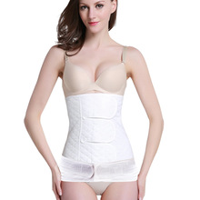 Fitness-Belt Bandage Slimming 2-In-1 Gauze Body-Shapewear Maternal-Corset Tummy Pure-Cotton