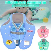 Baby Infant Soft Solid Non Inflatable Float Swimming Ring Swim Pool Trainer Toy Durable Double protection Child Life Vest