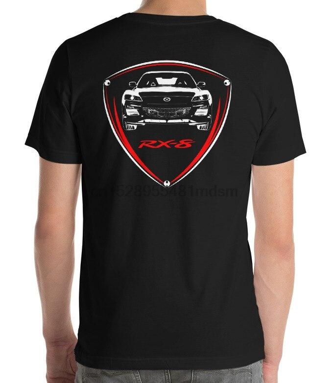 T-shirt for mazda rx8 fans jdm classic wankel rotary drift tuning turbo car
