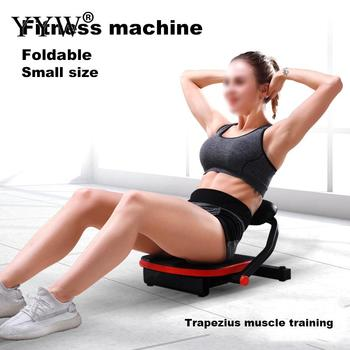 Sit-Ups Fitness Chair Adjustable Sit Up Training Racks Abdominal Core Workout Strength Machine Sit Up Assistant Trainer Boards фото