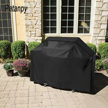 Large Size Outdoor BBQ Grill Covers Gas Heavy Duty for Home Patio Garden Storage Waterproof Barbecue Cover Accessorie