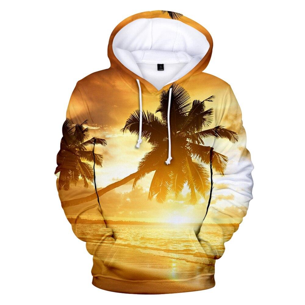 Пляжные толстовки, Мужская/Женская толстовка с капюшоном, толстовка с капюшоном для мужчин s, океан, красивый вид на море, кокосовое дерево, милая Кепка, худи, куртки