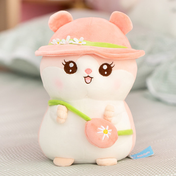 Cute  Plush Hamster Soft Stuffed Soft Animals Toy For Children Cute Kwaii Plush Hamster Stuffed Kids Doll Birthday Gift For Baby недорого