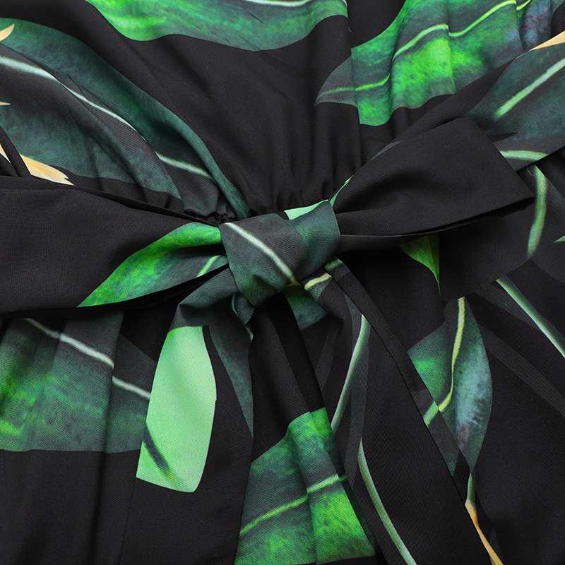 Celmia Bohemian Dress Women Summer Sundress Sleeveless Vintage Floral Print Casual Loose Ruffles Party Robe Belted Vestidos 5XL 5