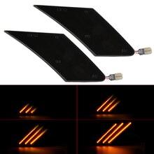 2x Динамический светодиодный светильник с поворотным сигналом для переднего бампера последовательный боковой габаритный светильник для Subaru BRZ для Scion FR S для Toyota FT86