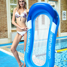 Inflatable Hammock Floatings Row Lounges Folding Swimming Bed Portable Beach Summer Swimming Pool Water Pool Float Party Beach