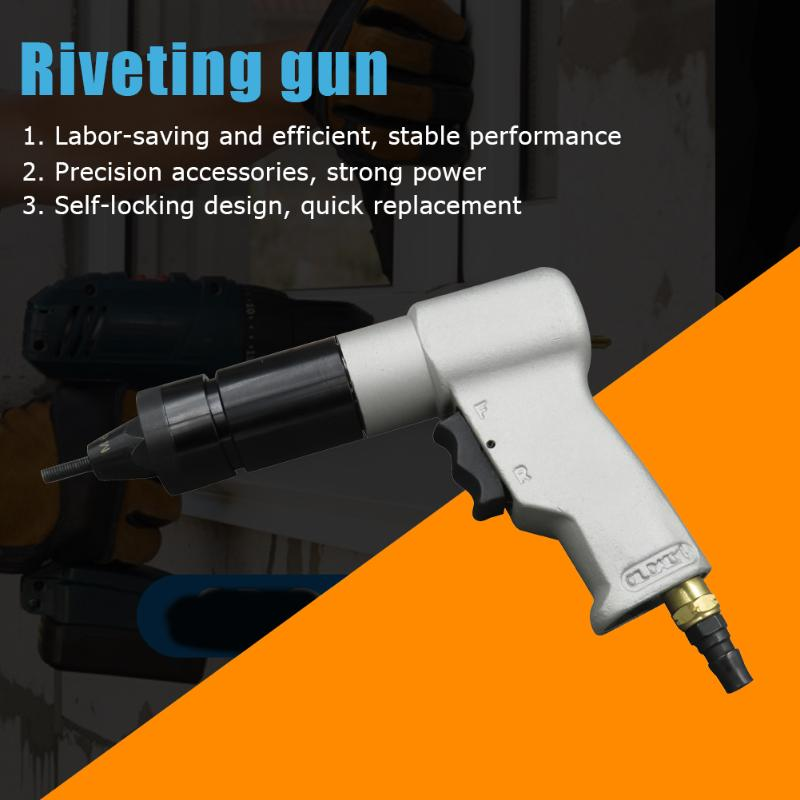 Riveter Adapter M5-M10 Electric Rivet Gun Insert Nut Riveting Cordless Drill Pull-Rivet Machine Pull-Cap Machine