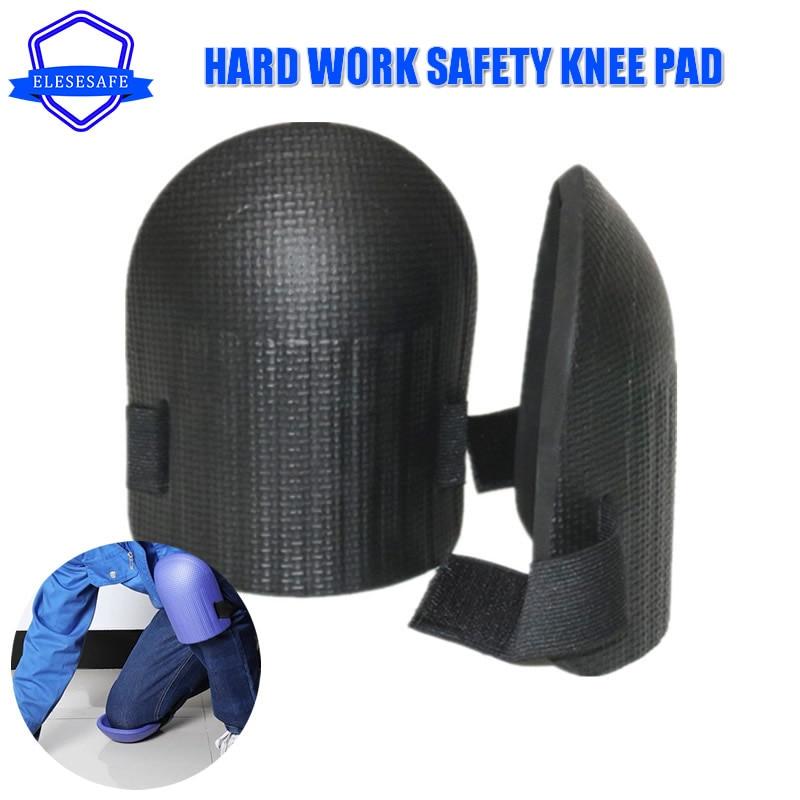 NEW 2pcs Work Safety Hard Knee Pads EVA Waterproof Wear-resistant Kneecap For Car Repairing Garden House Clean Knee Protection