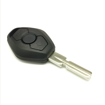 Datong World Car Remote Key Case For BMW 1 3 5 6 7 Series E81 E46 E38 E39 E63 X3 X5 Z3 Z4 3 Buttons Car Key Blank Cover Shell image
