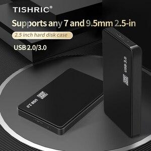 Чехол TISHRIC для жесткого диска 2,5 дюйма, чехол для жесткого диска, чехол для жесткого диска, корпус для жесткого диска, адаптер SATA-USB 3,0 для внешнего жесткого диска HD