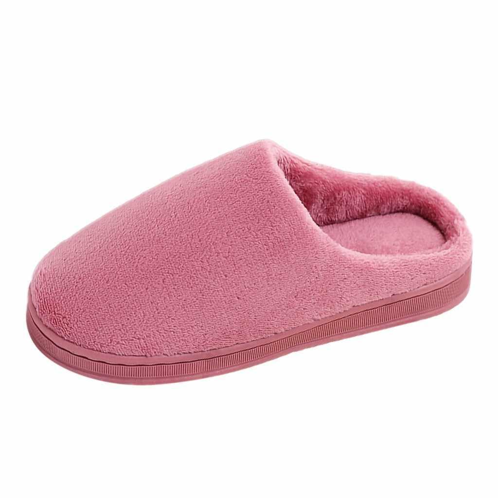 Kadın Terlik Alt Yumuşak Ev Ayakkabı Çiftler Katı Akın Sıcak kaymaz Zemin Ev Terlik Kapalı Ayakkabı zapatos de mujer