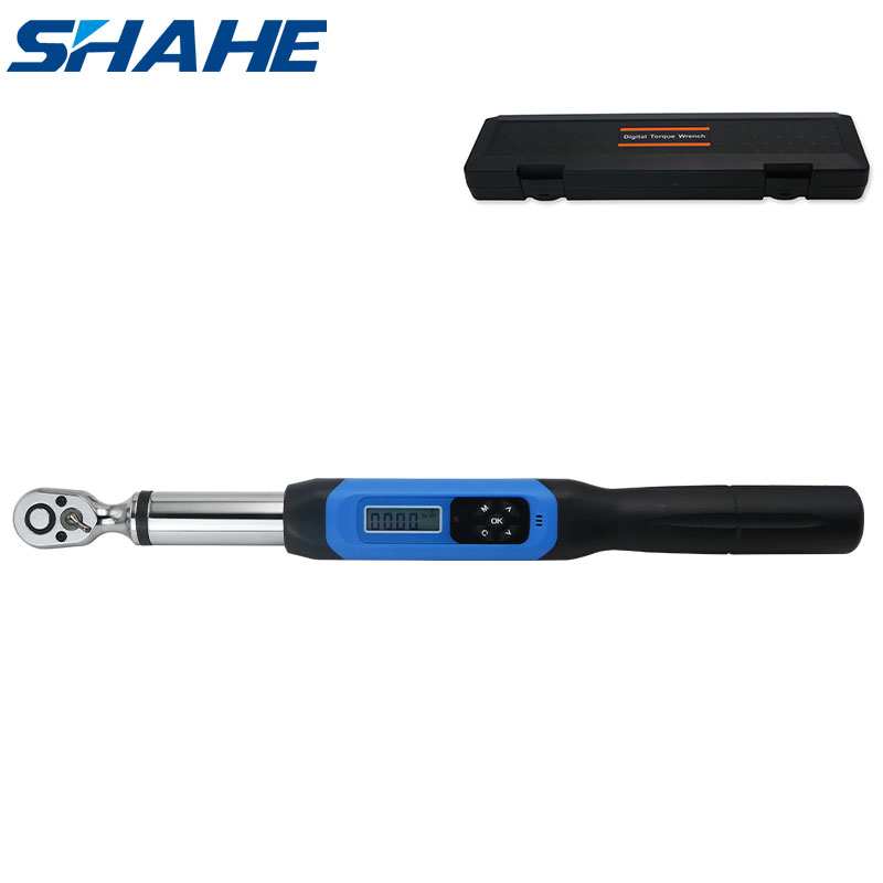 shahe 1 4inch 3 8inch torque wrench AWJ adjustable digital torque wrench Bike car Repair Torque Tool torque wrench digital