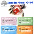 2020 mais novo original sigma caixa + 9 cabo com pack1 pack2 pack3 pack4 nova atualização para huawei