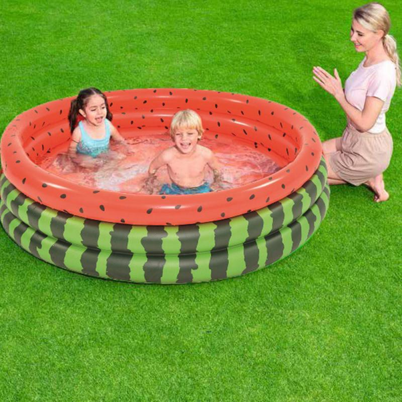 Paddling Watermelon Pool-Tslm1 Swimming-Pool Inflatable Children's Indoor Bath Floating-Row