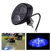 1 Or 2PCS 5.6 inch 10W 12V~80V Blue Color Led Spot Light Auto Forklift Emergency Warning Danger Lamp