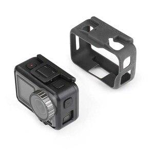 Image 2 - Capa de lente de gel de sílica para câmera, protetor de lente para dji osmo actie, capa de proteção para osmo
