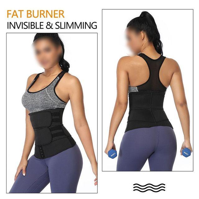 Slimming Sweatband Abdomen Belt Ladies Girdle Belt Postpartum Strengthening Sports Girdle Yoga Waistband Sweat Band 3