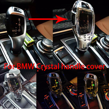 For BMW F20 F30 f10 f32 F25 X5 F15 F16 interior accessories modified crystal handle cover decorative crystal LHD