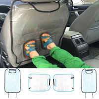 Car Seat Back Cover Protector Kick Clean Mat Pad Anti Stepped Dirty for Kids /YI