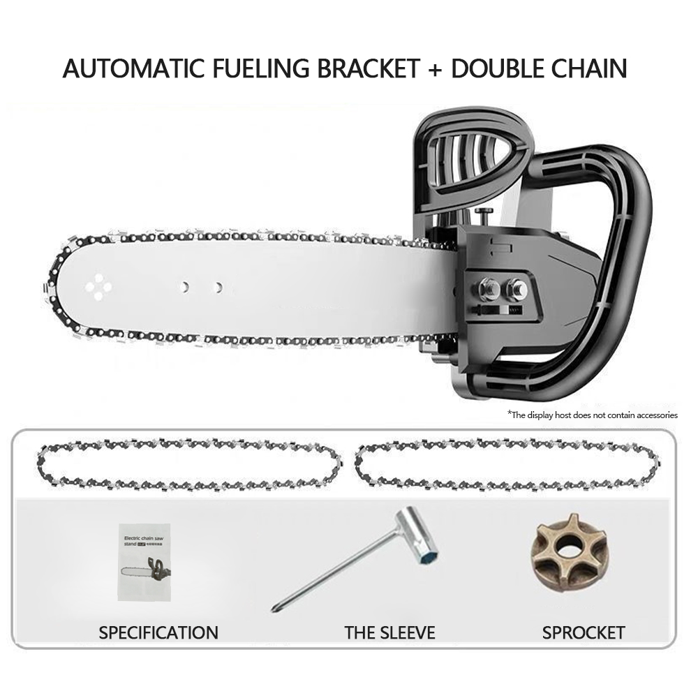Tools : 11 5 inch Electric Chainsaw Bracket Adjustable Universal M10 Chain Saw Part Angle Grinder Into Chain Saw Woodworking Power Tool