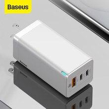 Baseus – chargeur rapide USB 65W GaN QC 4.0 PD3.0, pour iPhone 12 Samsung S10 Xiaomi PD Type C