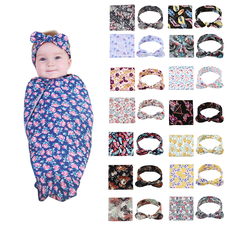 AAG Baby Sleeping Bag Swaddle Blanket Newborns Envelope For Discharge Diaper Cocoon For Newborn Maternity Hospital Discharge Kit