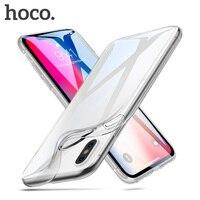 HOCO-funda de TPU suave para iPhone X, XS, protección ultrafina, Original