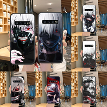 Anime Tokyo Ghoul Phone Case untuk Samsung Galaxy S 10 20 3 4 5 6 7 8 9 Plus E lite Uitra Hitam Bumper Cukup Tahan Air 3D Cover(China)