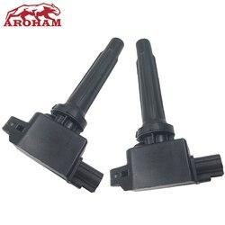 Aroham wysokiej jakości dla Mazda 3 6 CX-5 cewka zapłonowa System PE20-18-100 H6T61271 PE2018100 PE20-18-100A PE2018100A