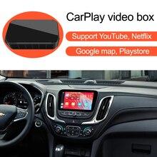 Car Apple CarPlay YouTube Netflix Video Bluetooth GPS Navigation AI Box,for Chevrolet Equinox Silverado Tahoe Colorado Suburban