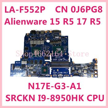 Placa base CN 0J6PG8 DDR51 LA-F552P para DELL Alienware 15 R5 17...