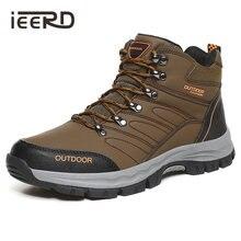 Уличные мужские ботинки ieerd водонепроницаемые и нескользящие