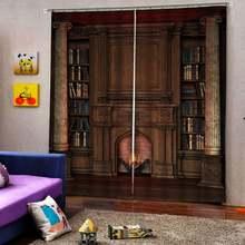 Оконная обработка 3d занавеска ретро римская s для гостиной