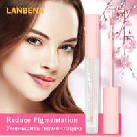 LANBENA Makeup Lipstick Lip Lightening Serum Cherry Moisturizing Remove Melanin Pink Lips Long Lasting Cosmetics Plumper Tool