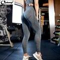 Женские спортивные Леггинсы для йоги, компрессионные штаны с высокой талией для спортзала, фитнеса, бега, отдыха, бесшовные Леггинсы для йог...