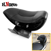 Scooter Parts For Honda PCX 1502014 2015 2016 2017 2018 2019 2020 Back Pad Seat Backrest Rear Passenger Backrest Leather Holder