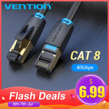 Tions Cat8 Ethernet Kabel SSTP 40Gbps Super Speed Cat 8 RJ45 Netzwerk Lan Patchkabel für Router Modem PC RJ 45 Ethernet Kabel(China)