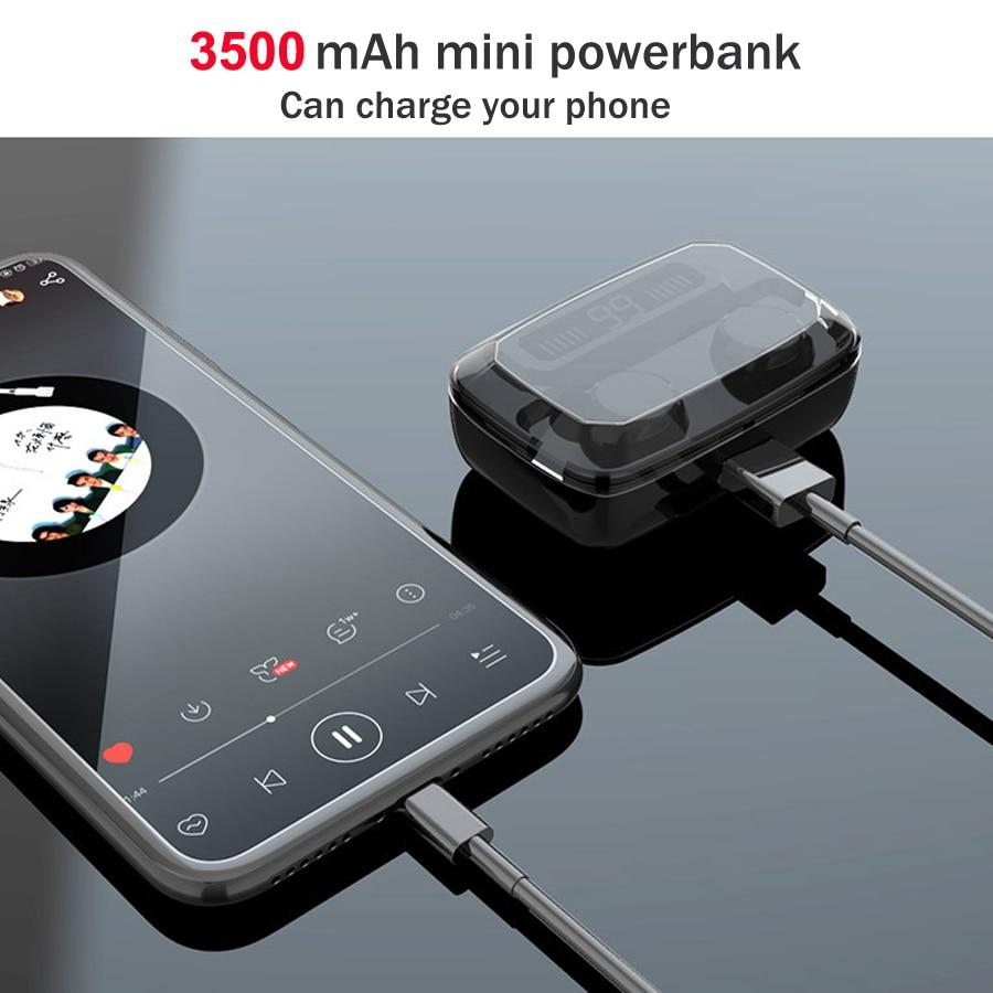 3500mAh wireless earphone