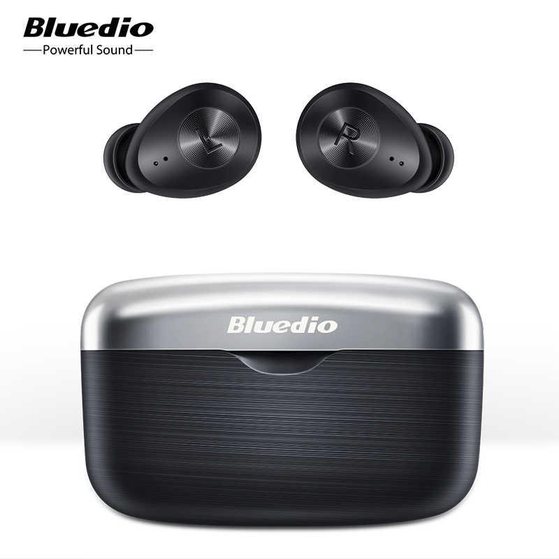 Auriculares inalámbricos Bluedio Fi tws APTX, auriculares bluetooth a prueba de sudor, juego deportivo impermeable, auriculares para correr en la oreja