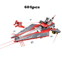 2019 Warship Starship Brick Special Police Force Compatible legoergy Star Warsokl Building Blocks Educational Children Toy Gift