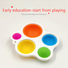 Toy 6-Months Development-Board Dimple-Toys Gift Up Intelligence Sensory Baby Babies Early-Education