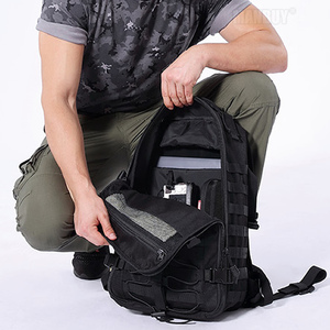 Image 5 - 2020 NITECORE BP25 Outdoor Multi purpose Backpack 25L Wearproof 1000D Nylon ToolBag lightweight 4Side MOLLE System Free Shipping