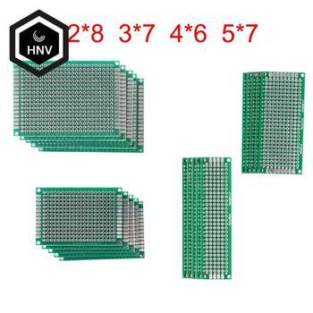 20 шт./лот 5x7 4x6 3x7 2x8 см, двухсторонний прототип, «сделай сам», универсальная печатная плата, печатная плата для Arduino|Интегральные схемы|   | АлиЭкспресс