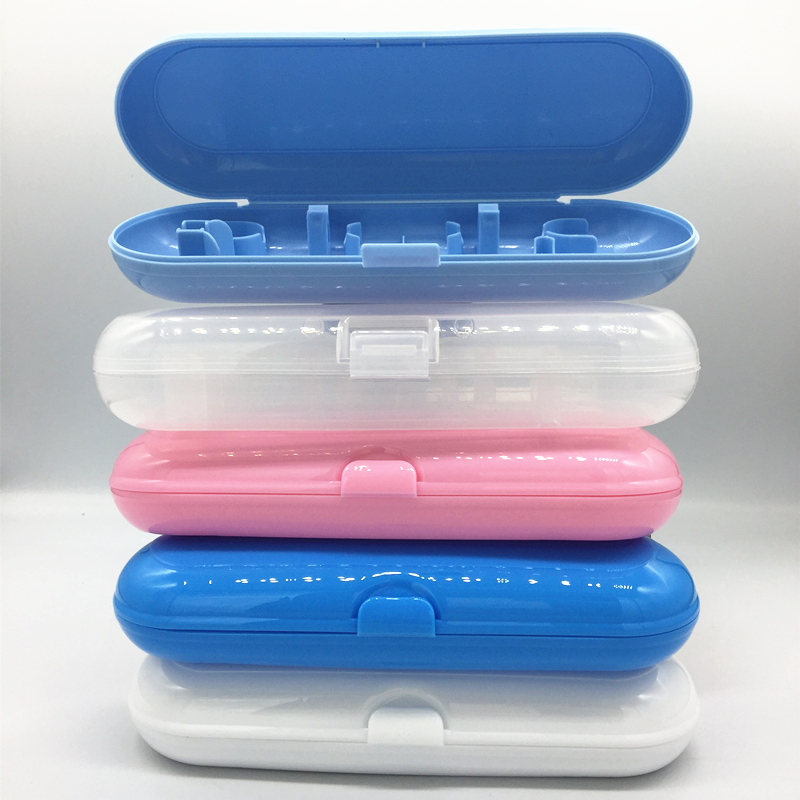 Portable Travel Electric Toothbrush Case Fit For Oral B Storage Plastic Box Tooth Brush Protect Holder For Hiking Camping