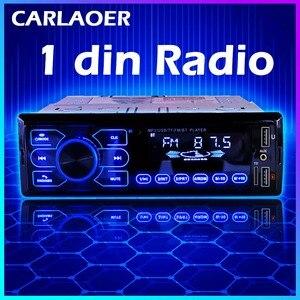 Image 1 - Auto Radio Stereo Player Bluetooth AUX IN MP3 FM USB 1 Din Auto Auto 1DIN Für Kia Hyundai Toyota Ford Nissan mitsubishi Suzuki ISO