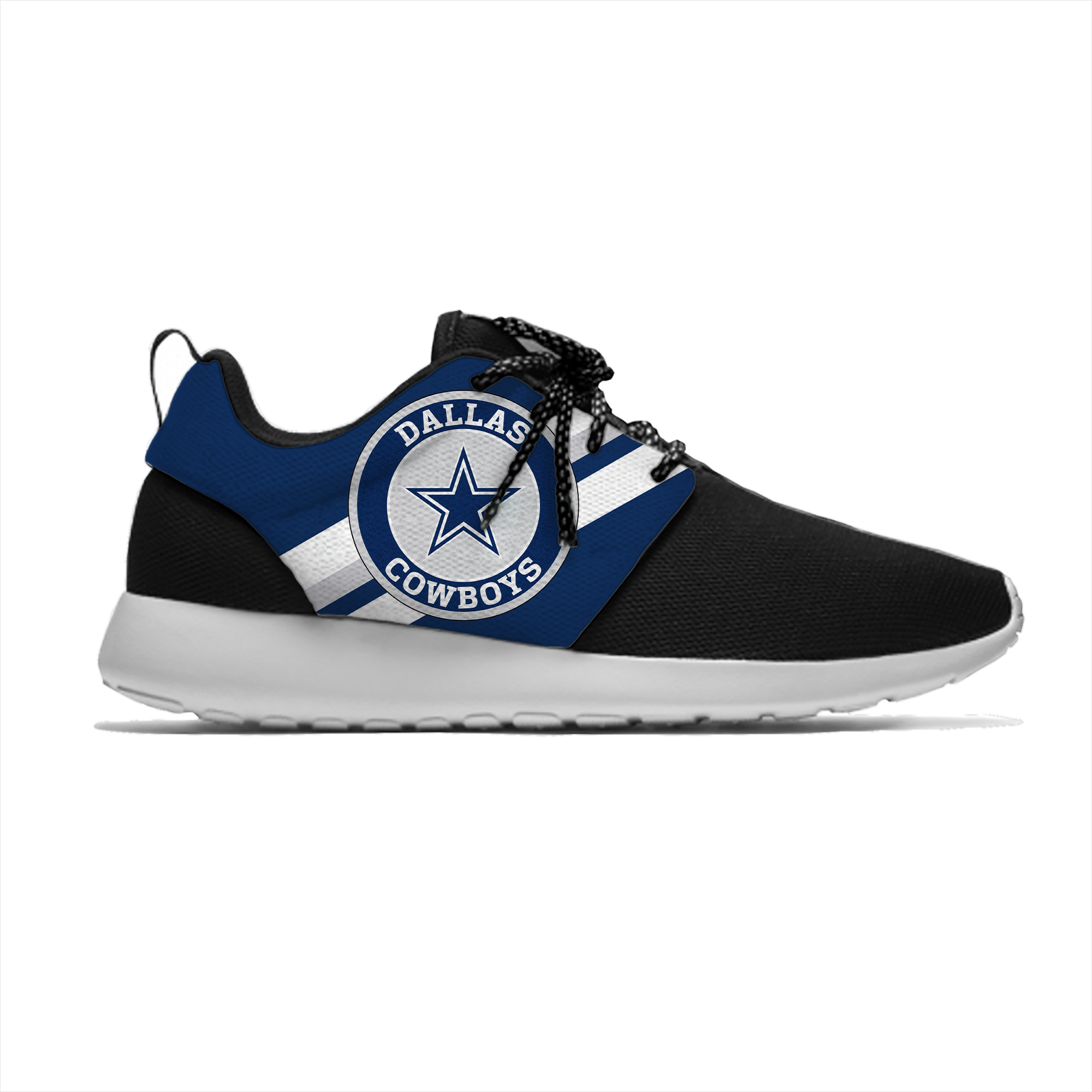 Cowboys Breathable Leisure Sport Sneakers Dallas Football Team Fans Lightweight Casual Men/Women Running Mesh Shoes